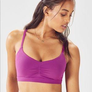 Fabletics sports bra size Medium